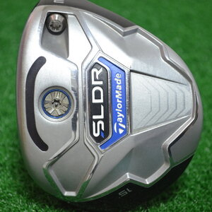 TAYLORMADE SLDR FAIRWAY 15* 3 WOOD SPEEDER 77 BY FUJIKURA FLEX S