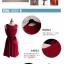 ชุดเดรสแฟชั่นแขนกุด สีแดง ผ้าซีฟองพริ้วๆใส่ออกงาน ทำงาน ดินเนอร์ได้สบายๆเลยค่ะ thumbnail 7