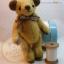 ตุ๊กตาหมีผ้าขน caramel ขนาด 14 cm. - Herbie thumbnail 3