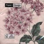 กระดาษแนปกิ้น เดคูพาจ Flower 21430