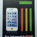 แถบสีติดด้านข้าง สีเหลือง for iPhone4 (MSP015) by WhiteMKT