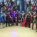 เซ็ต โมเดล The Avengers ขนาด 6 นิ้ว 8 ตัว