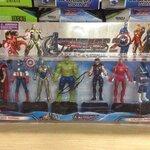 เซ็ต โมเดล The Avengers ขนาด 4 นิ้ว 8 ตัว