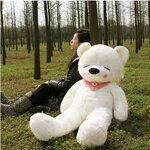 ตุ๊กตาหมีหลับ สีขาว ขนาด ขนาด 1.4 m.