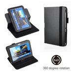 360 Rotation Leather Case Cover For Galaxy Note 10.1