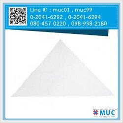 ผ้าสามเหลี่ยม (สีขาว) ขนาด 103 x 103 x 145 ซม.