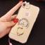 (025-979)เคสมือถือไอโฟน Case iPhone7/iPhone8 เคสนิ่มซิลิโคนใสลายหรูติดคริสตัล พร้อมแหวนเพชรวางโทรศัพท์ และสายคล้องคอถอดแยกสายได้ thumbnail 20