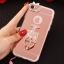 (025-979)เคสมือถือไอโฟน Case iPhone7/iPhone8 เคสนิ่มซิลิโคนใสลายหรูติดคริสตัล พร้อมแหวนเพชรวางโทรศัพท์ และสายคล้องคอถอดแยกสายได้ thumbnail 7