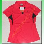 เสื้อกีฬา nike สำหรับผู้หญิง สีแดง
