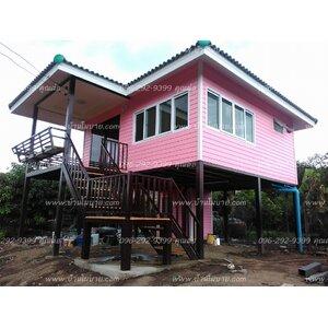 บ้านขนาด6*5.5เมตร + ระเบียง 2*3 เมตร ราคา 475,000 บาท