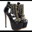 รองเท้าส้นสูงสีดำ ไซต์ 34-40 thumbnail 5
