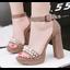 รองเท้าส้นสูง ไซต์ 34-39 สีดำ/แดง/น้ำตาล/ชมพู thumbnail 5
