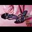 รองเท้าส้นสูงแบบสวมสวยเก๋สีดำ ไซต์ 34-39 thumbnail 8