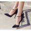 รองเท้าส้นสูง ไซต์ 35-40 สีทอง/ดำ/เงิน thumbnail 4