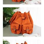 กระเป๋าแบรนเนม AXIXI รหัส A019 สี:สีส้มสดใส