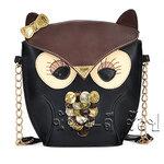 กระเป๋าสะพาย Owl สีเข้ม **พร้อมส่ง**