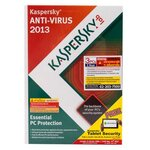 Kaspersky Anti-Virus 2013 (Renewal 3User)