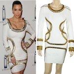 HV064 / Preorder Herve Legr Dress Style พรีออเดอร์เดรสไตล์ Hervr Leger เดรสผ้ายืด ใส่สวยเน้นรูปร่าง