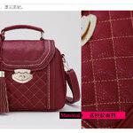 กระเป๋าแบรนเนม AXIXI รหัส A010 สีสเปนแดง