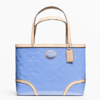 COACH  PEYTON EMBOSSED PATENT TOP HANDLE TOTE  style: F48166