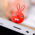 จุกเสียบ iphone4/4s/samsung bunny