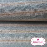 ผ้าทอญี่ปุ่น 1/4เมตร พื้นสีครีมฟ้า