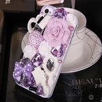 เคสไอโฟน 5/5s (Case Iphone 5/5s) ( เคสไอโฟน Anna Sui ) สีขาว