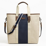COACH  HERITAGE WEB CANVAS PIECED STRIPE TOTE  style: F70825