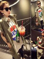 พร้อมส่ง ::MO231:: เสื้อคลุมแฟชั่น แบบน่ารัก สีเหมือนแบบ