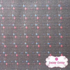 ผ้าทอญี่ปุ่น 1/4ม.(50×55ซม.)พื้นสีน้ำตาลเข้ม