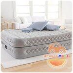 Intex ที่นอนเป่าลมไฟฟ้า รุ่น 66962 (Silver)