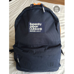 Superdry - True Montana Backpack - สีน้ำเงิน ซิปส้ม