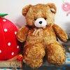 ตุ๊กตาหมีหน้ากลม size xxl สีน้ำตาล