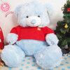 ตุ๊กตาหมี ใส่เสื้อฟุตบอลทีมชาติ สเปน size xl