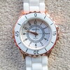 นาฬิกาข้อมือแฟชั่น ( sizeเล็ก ขอบทอง ) นาฬิกา ตัวเลขอารบิค