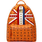 [Pre] MCM 2012 London Olympic Limited Edition Medium Backpack (OR)