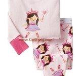 ชุดนอนเด็ก Baby Gap ลาย Pink_Princess ไซส์ 3,4 ปี