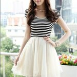 L72222#korea fashion dress