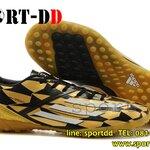 รองเท้าฟุตซอลAdidas F50 Adizero Messi 2014 World Cup Black Gold ไซส์ 39-44 งานระดับTop High Qulity 4A ดันทรง+ถุงผ้าฟรีEms