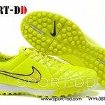 รองเท้าฟุตซอลNike Tiempo Legacy TF- green/black/redไซส์ 39-44 งานระดับTop High Qulity 4A ดันทรง+ถุงผ้าฟรีEms