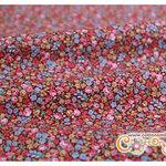 ผ้าคอตตอนญี่ปุ่นลายดอกไม้ (LECIEN) (ขนาด 45 x 55 ซม.)