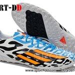 รองเท้าฟุตซอลAdidas F50 Adizero Messi BATTLE PACK 2014 World Cup White Black Blue Orange ไซส์ 39-44 งานระดับTop High Qulity 4A ดันทรง+ถุงผ้าฟรีEms