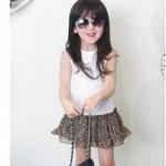 ชุดเด็ก(เดรส) Pink ideal ลายเสือ ไซส์ 9,11,13