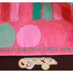 ผ้าคอตตอนญี่ปุ่น CANDY (YUWA) (ขนาด 45 x 55 cm.)