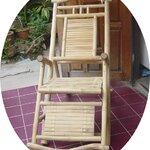 เก้าอี้โยกไม้ไผ่