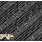 ผ้าคอตตอนญี่ปุ่นโทนสีดำ (D's SELECTION ขนาด 1/4 หลา 45 x 55 ซม.)