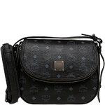 [Pre] MCM 2013 AW Medium Shoulder Bag Vintage Visetos (BK)