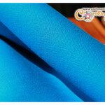 ผ้าแคนวาสสีฟ้า (ขนาด 50x70 ซม.)