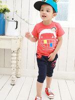 ชุดเซตเด็ก  เสื้อ +กางเกง  น่ารักสไตล์เกาหลี เก๋มากค่ะ