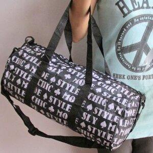 กระเป๋า นักเดินทาง ลายอักษร... ตก QC